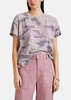 Rag & Bone Women's Camouflage Slub Pima Cotton Jersey T