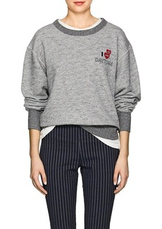 "Rag & Bone Women's ""Daytona"" Cotton Terry Sweatshirt"