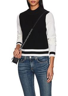 Rag & Bone Women's Dean Colorblocked Mock Turtleneck Sweater