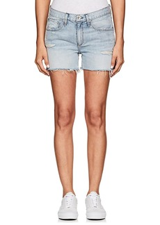 Rag & Bone Women's Distressed Denim Boyfriend Shorts