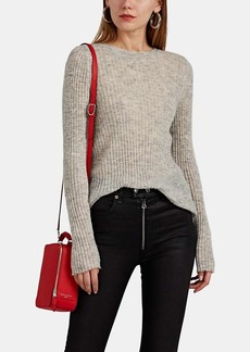 Rag & Bone Women's Donna Ribbed Mohair-Blend Sweater