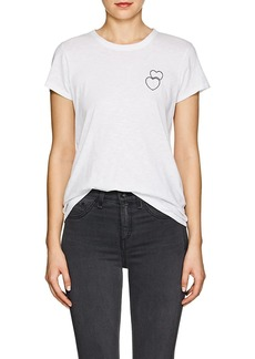 Rag & Bone Women's Double-Heart Cotton T-Shirt