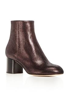 rag & bone Women's Drea Crackled Nubuck Leather Block Heel Booties - 100% Exclusive