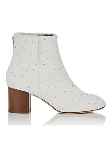 Rag & Bone Women's Drea Studded Calf Hair Ankle Boots