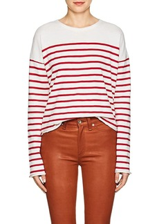 Rag & Bone Women's Halsey Striped Cotton T-Shirt