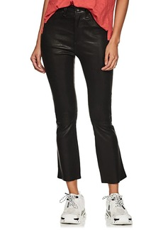 Rag & Bone Women's Hana Leather Crop Jeans