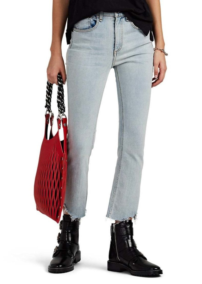 Rag & Bone Women's Hana Mid-Rise Flared Jeans
