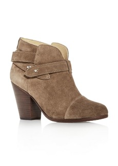 rag & bone Women's Harrow Cap-Toe High-Heel Booties