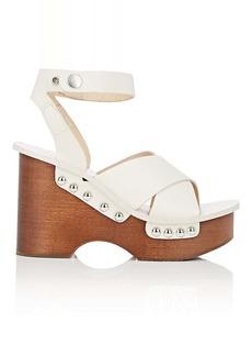Rag & Bone Women's Hester Leather Clog Sandals