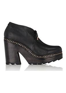 Rag & Bone Women's Inez Leather Desert Clog Boots