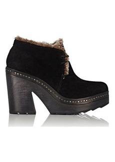 Rag & Bone Women's Inez Suede & Shearling Desert Clog Boots