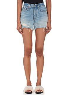 Rag & Bone Women's Justine Distressed Denim Cutoff Shorts