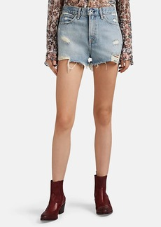 Rag & Bone Women's Justine Distressed Denim Shorts