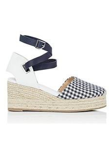 Rag & Bone Women's Kea Gingham & Leather Espadrille Sandals