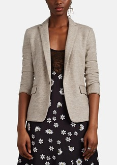 Rag & Bone Women's Lexington Wool Jersey Snap-Front Blazer