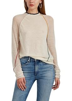 Rag & Bone Women's Lydia Contrast-Tipped Alpaca-Blend Sweater