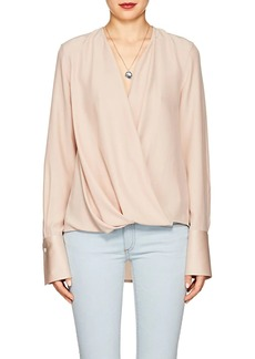 Rag & Bone Women's Max Silk Crepe Blouse