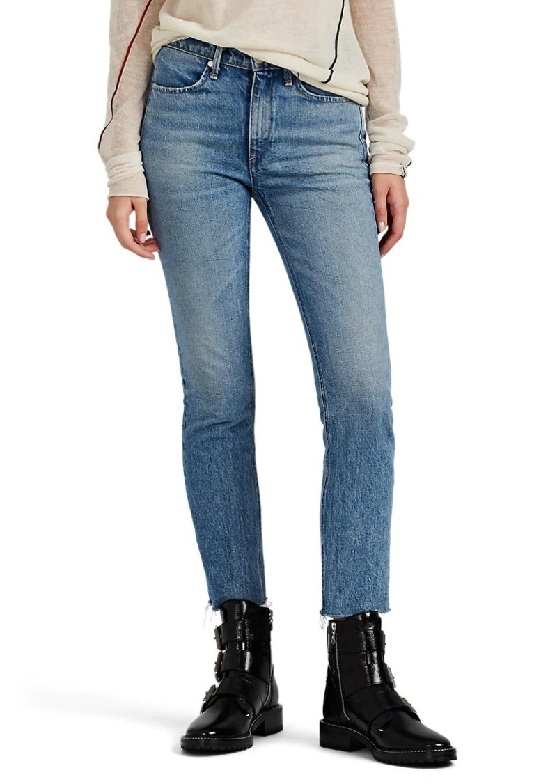 Rag & Bone Women's Mid-Rise Ankle Cigarette Jeans