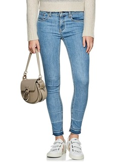 Rag & Bone Women's Mid-Rise Skinny Crop Jeans