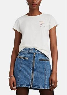 "Rag & Bone Women's ""Mother Nature"" Slub Cotton T-Shirt"