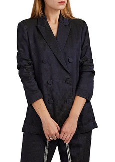 Rag & Bone Women's Nyx Dot Jacquard Double-Breasted Blazer