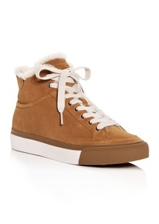 rag & bone Women's Orion Shearling High-Top Sneakers