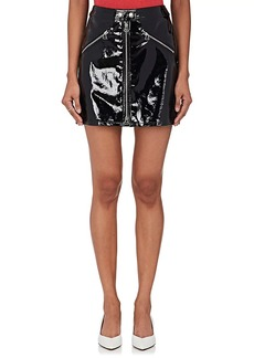 Rag & Bone Women's Patent Leather Miniskirt