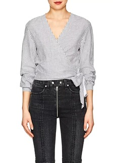 Rag & Bone Women's Prescot Striped Cotton-Linen Blouse
