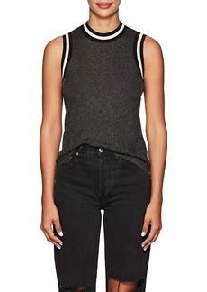 Rag & Bone Women's Priya Metallic Rib-Knit Tank