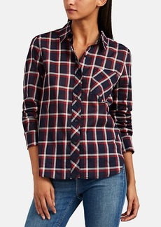 Rag & Bone Women's Robbie Plaid Cotton Shirt