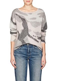 Rag & Bone Women's Sinclair Camouflage Wool-Blend Sweater