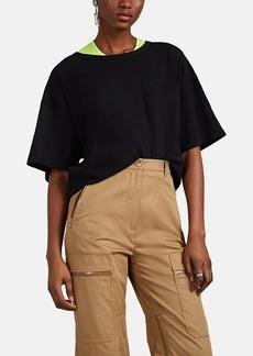 Rag & Bone Women's Slub Cotton Oversized T-Shirt