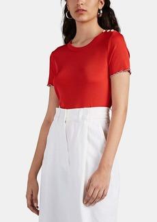 Rag & Bone Women's Sonny Rib-Knit T-Shirt