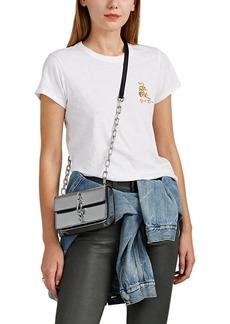 Rag & Bone Women's Tiger-Embroidered Cotton T-Shirt