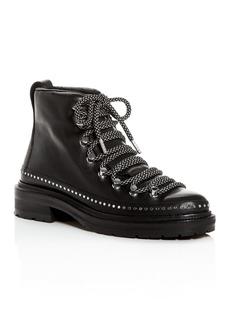 rag & bone Women's Vacchetta Studded Combat Boots