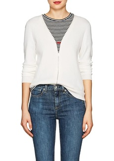 Rag & Bone Women's Vivienne Wool-Blend Zip-Front Cardigan