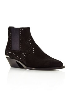 rag & bone Women's Westin Pointed-Toe Studded Booties