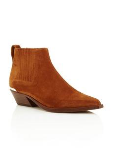 rag & bone Women's Westin Pointed-Toe Suede Low-Heel Booties