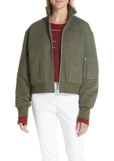 rag & bone Wool Blend Aviator Jacket