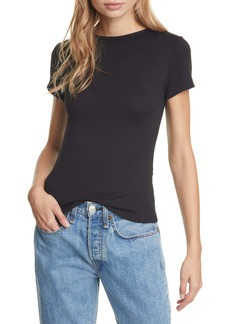 rag & bone Wrap Back Rib Tee