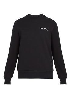 Rag & Bone Yin Yang crew-neck sweatshirt