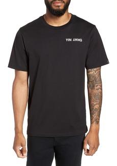 rag & bone Yin Yang Graphic T-Shirt