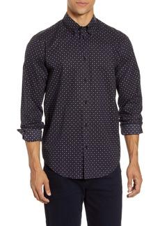 rag & bone Zac Slim Fit Geo Dot Button-Down Shirt