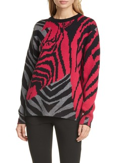 rag & bone Zebra Cashmere Sweater