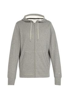 Rag & Bone Zip-through cotton hooded sweatshirt