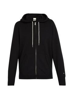 Rag & Bone Zip-through cotton-jersey hooded sweatshirt