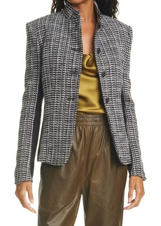 rag & bone Zoe Cotton Blend Tweed Jacket