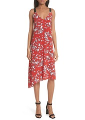 rag & bone Zoe Floral Print Silk Dress
