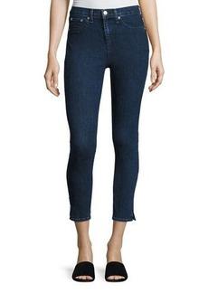 rag & bone/JEAN 10 Inch Skinny Capri Jeans with Slit