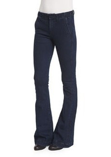 rag & bone/JEAN Low-Rise Bell-Bottom Trousers